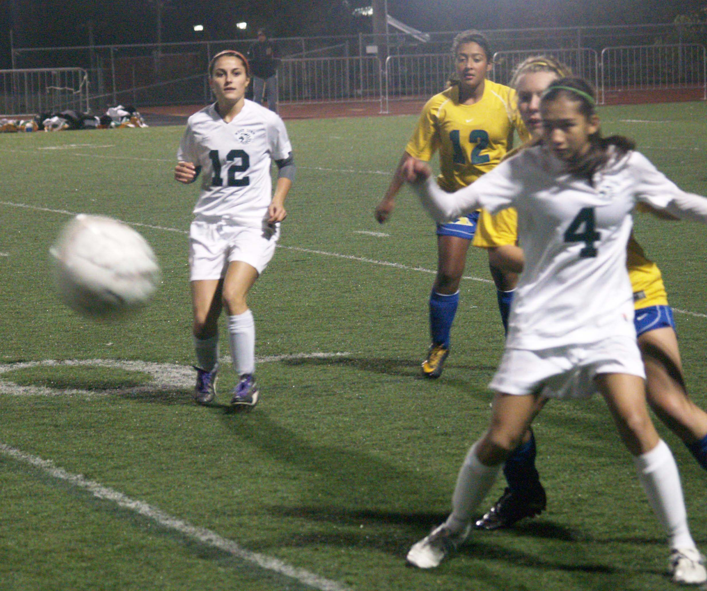 Girls' Soccer Team experiences playoff blues