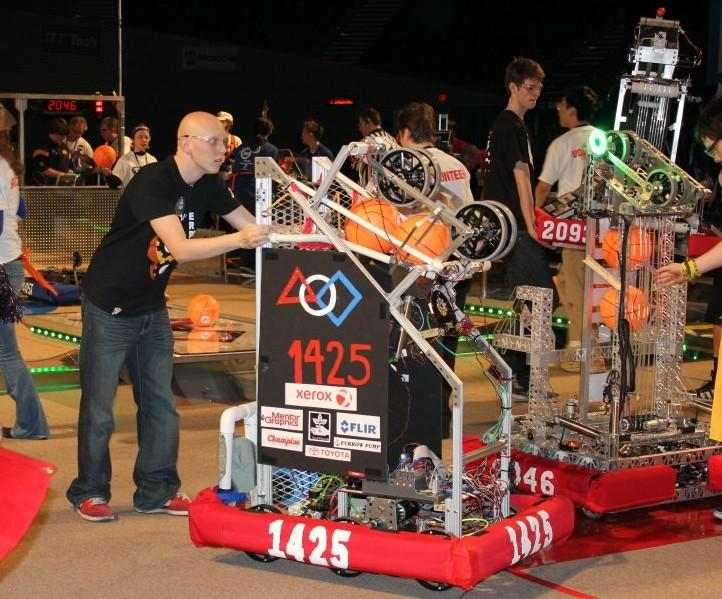Robotics Team takes first place, qualifies for the World Championship