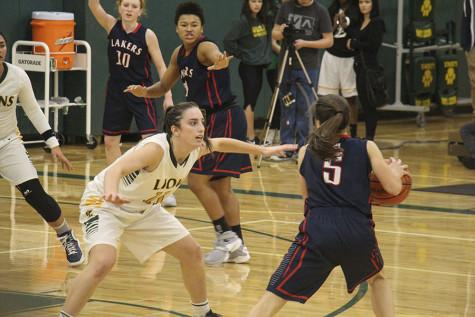 Girls Basketball comes back to beat Lake Oswego 61-57 in first league game (21 Photos)