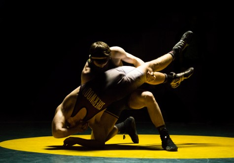 Wrestling celebrates their win over Sherwood (29 Photos)