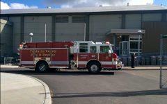 Fire breaks out in girls' locker room