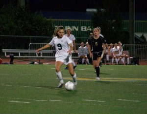 Despite losing an entire field of seniors, the Girls' soccer team is looking for a three-peat