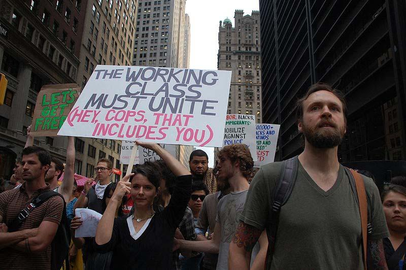 Occupy Movement ignored by mainstream media after a month of strong protest