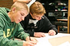 Foushee, Risenhoover sign National Letters of Intent
