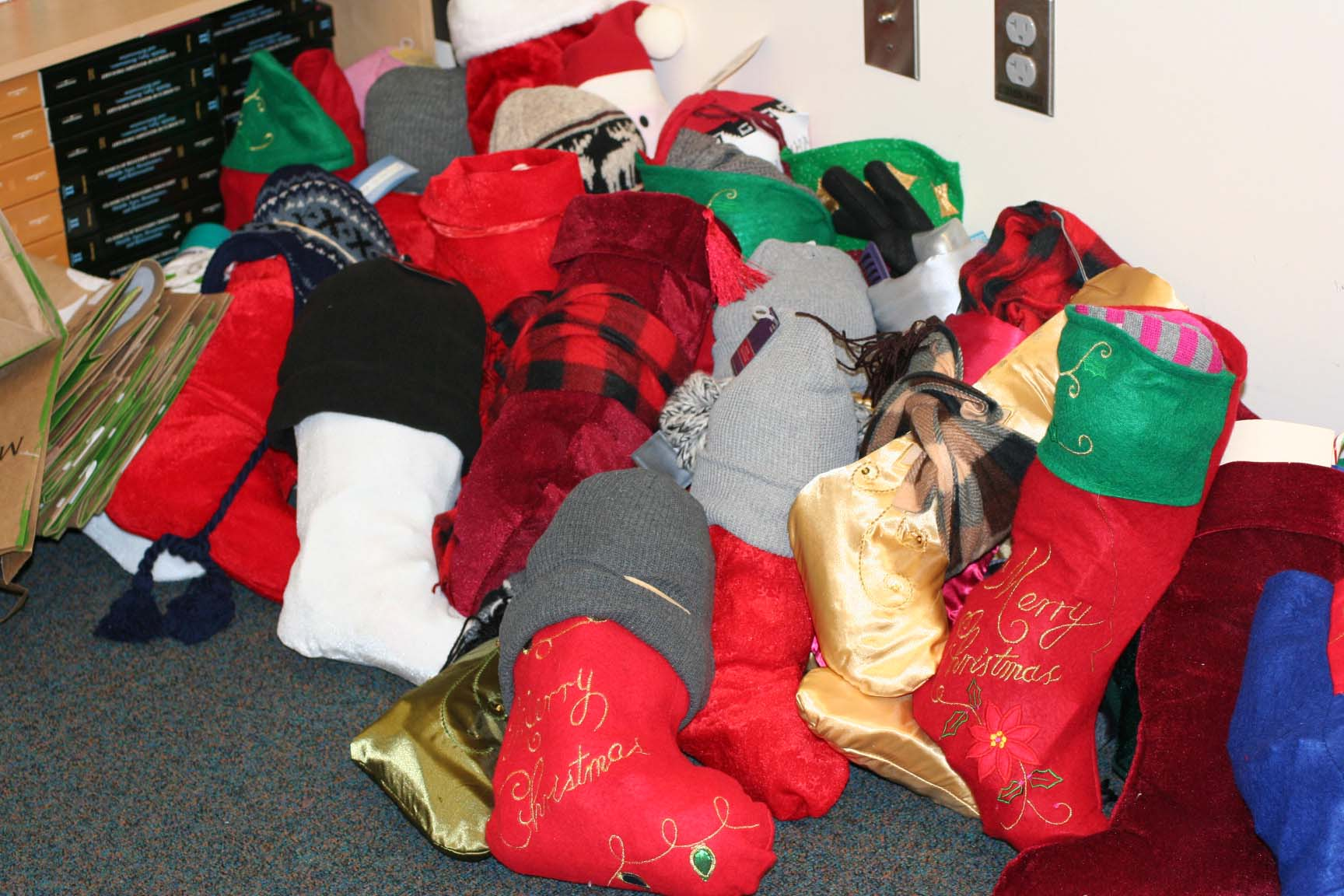 Operation Christmas Stocking provides homeless with much needed items