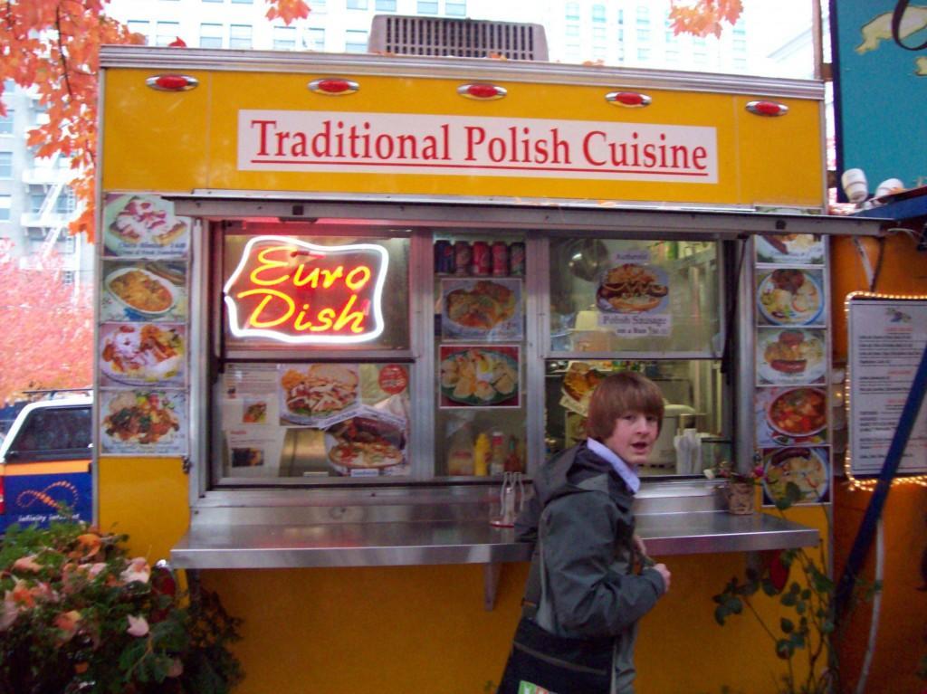 When at Euro Dish,