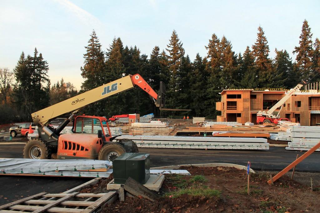Trillium Creek Elementary major district project, built to alleviate overcrowding