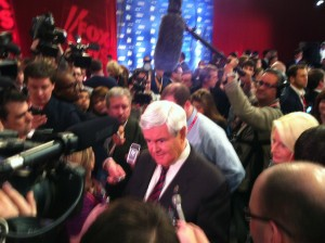 Gingrich sweeps South Carolina primary
