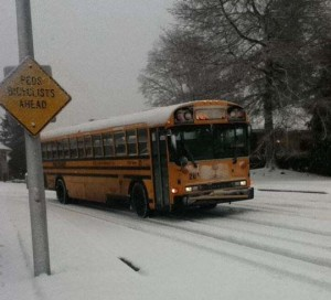 Bus delays catch students by surprise
