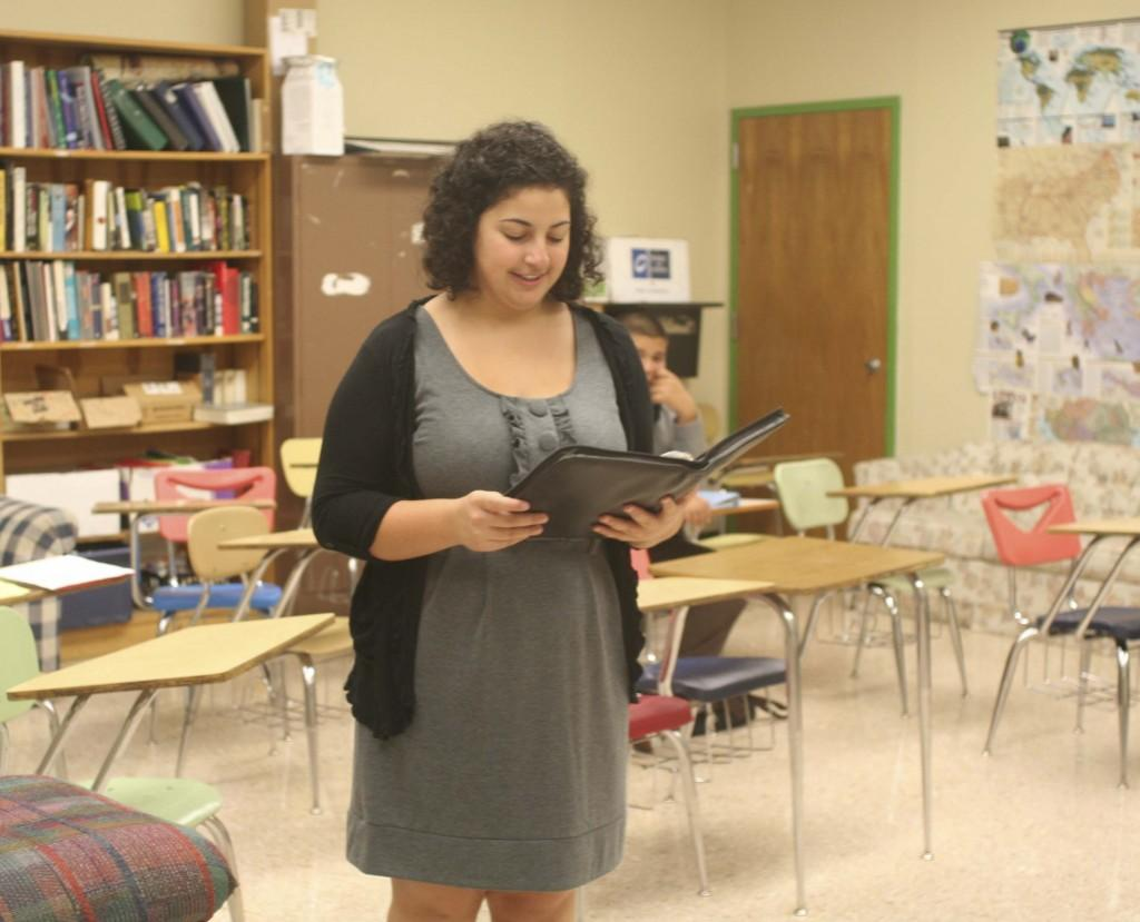 Youngest student in WLHS history to join Mock Trial strives for the best