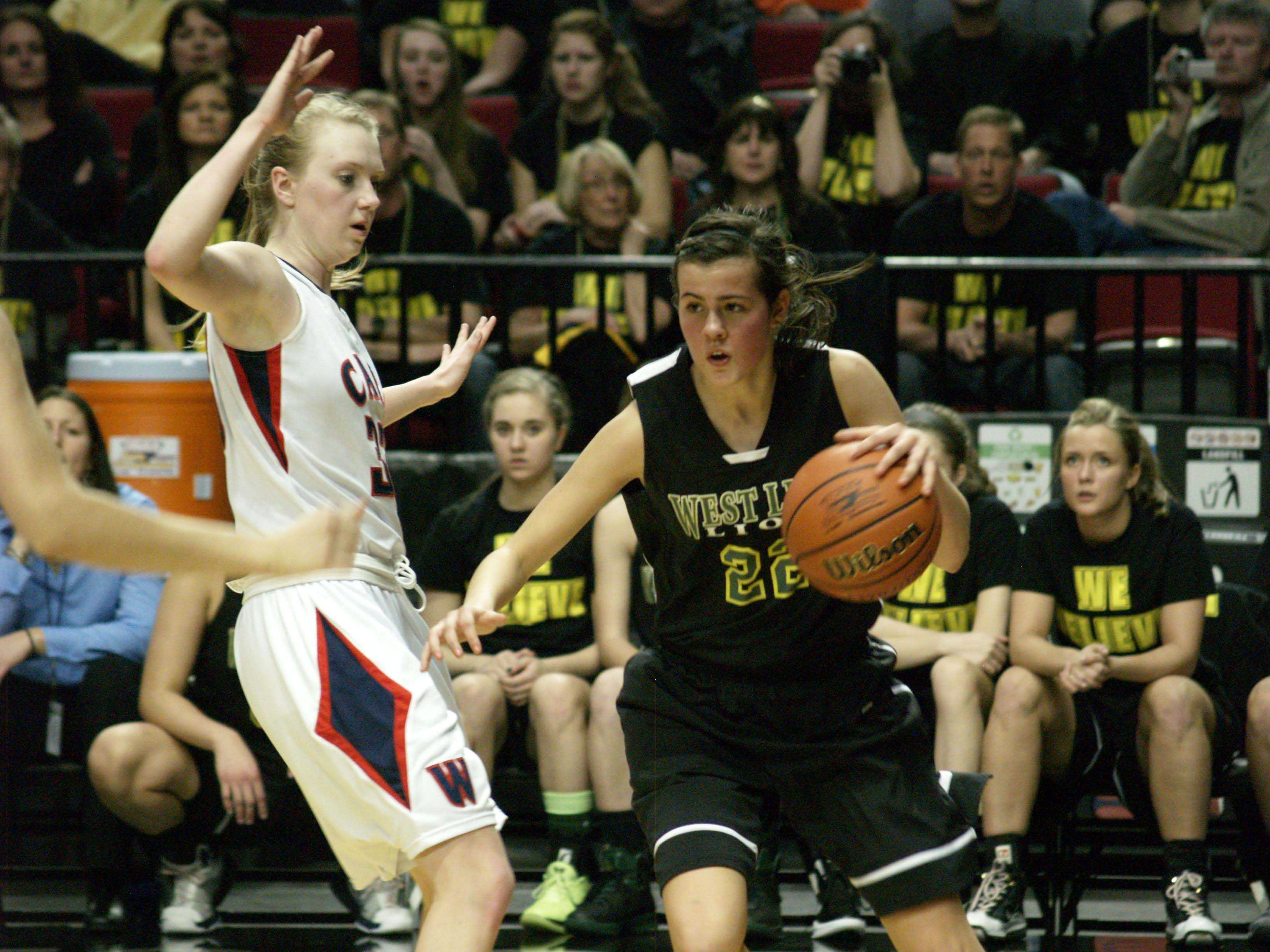 West Linn Girls basketball team places fifth in State playoffs