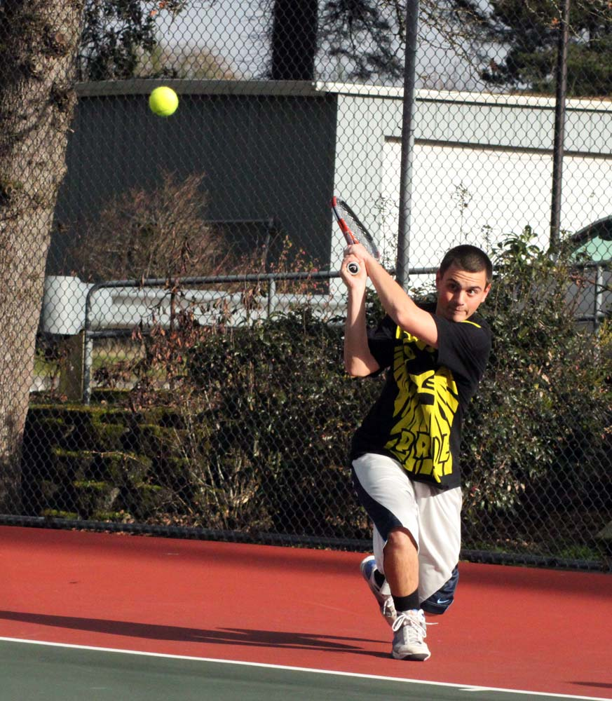 West Linn boys tennis team looks to continue its rally