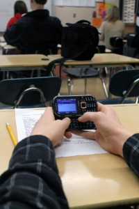 Cell phones are becoming a positive aspect of the classroom