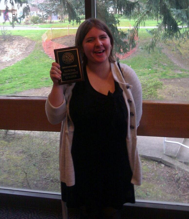Elise Brown wins in Oratory and moves onto National competition