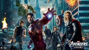 """""""The Avengers"""" crush all competition in theaters"""