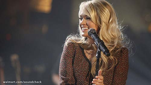 Carrie Underwood Blowing into Portland, Oregon