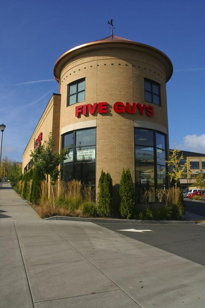 Five Guys Burgers and Fries gives back to West Linn High School