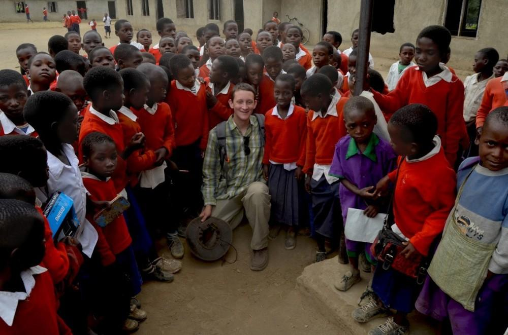 Oliver Muggli goes to Africa to fulfill lifelong dream of service