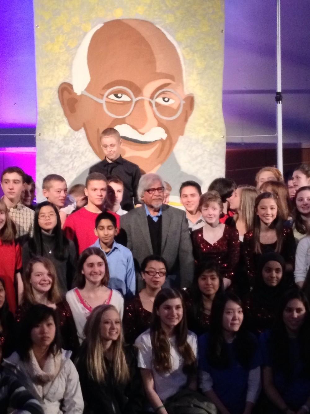 Arun+Gandhi+visits+Athey+Creek+Middle+School