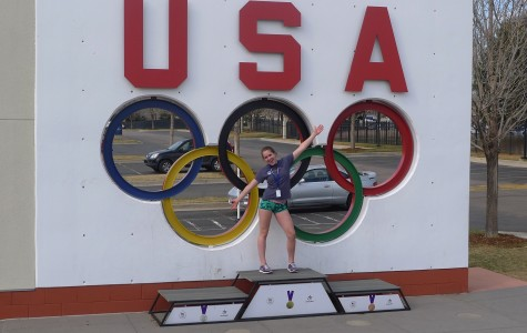 Laura Laderoute Returns from Colorado Springs Olympic Training Center
