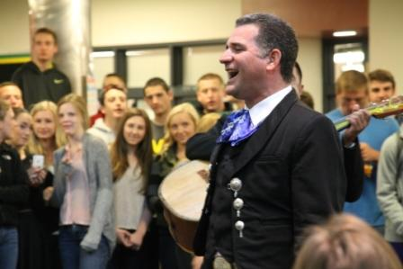 Senior Prank: Mariachi band hired to follow Bailey