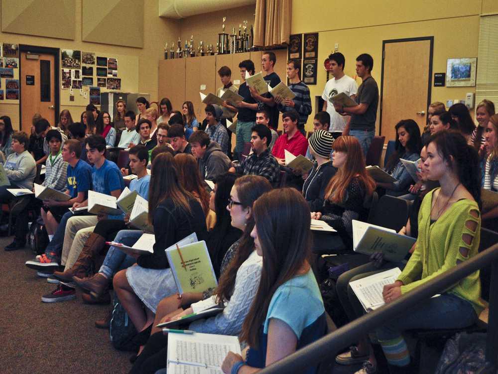 Freshman lands a spot in Symphonic Choir