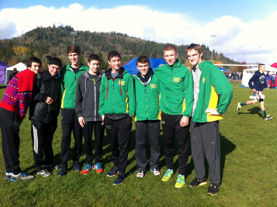 Cross Country Team finishes fifth at state