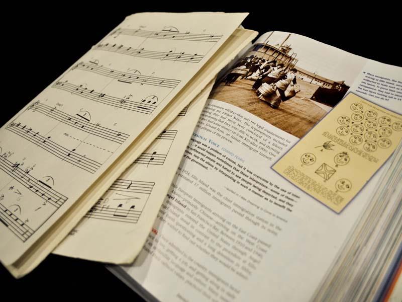 Correspondence between academics and music