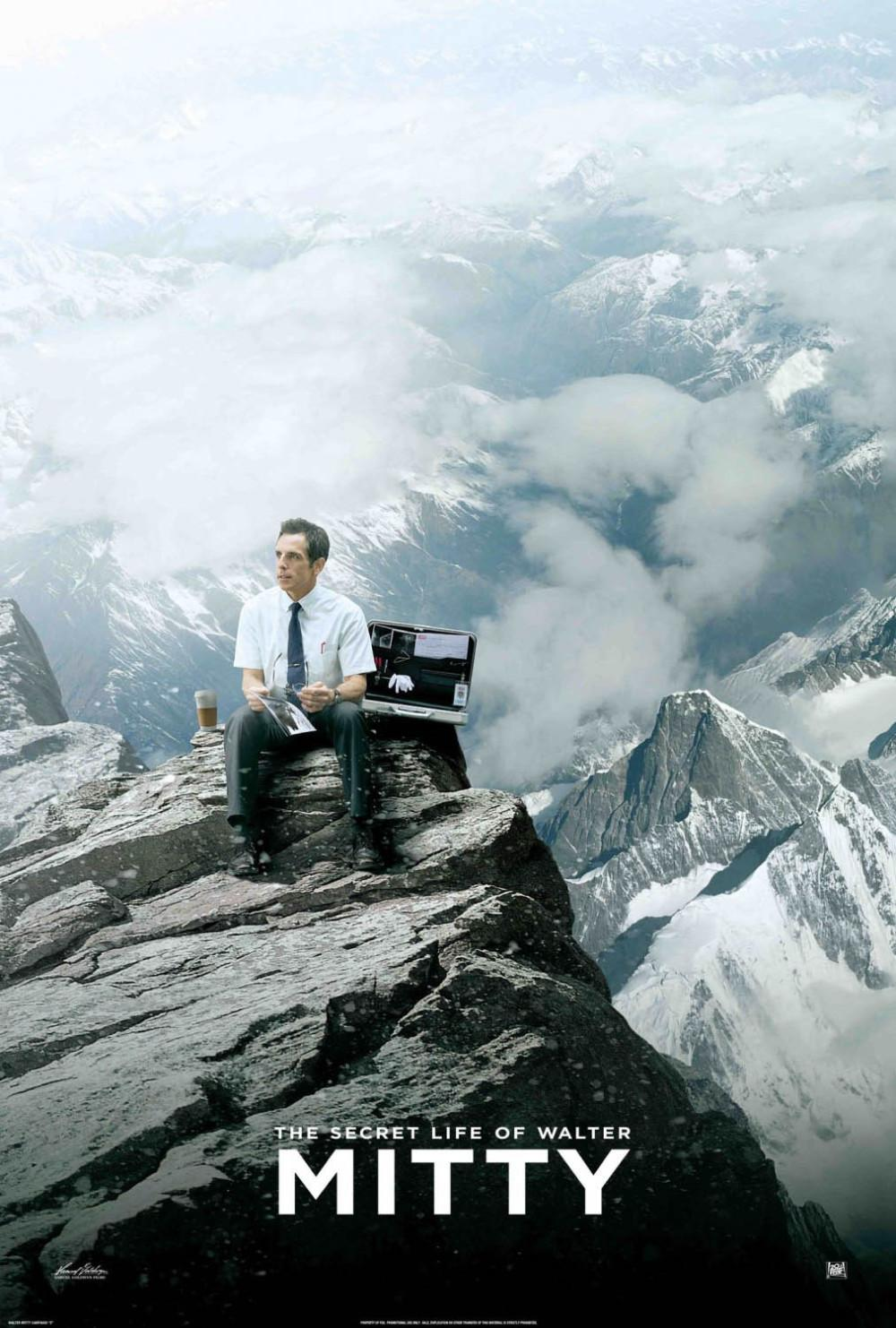 "The Secret Life of Walter Mitty follows the journey of Walter Mitty in a tale of hope, risks and living to the fullest. The movie is based on a short story, ""The Secret Life of Walter Mitty"" by James Thurber and was released on Christmas day."
