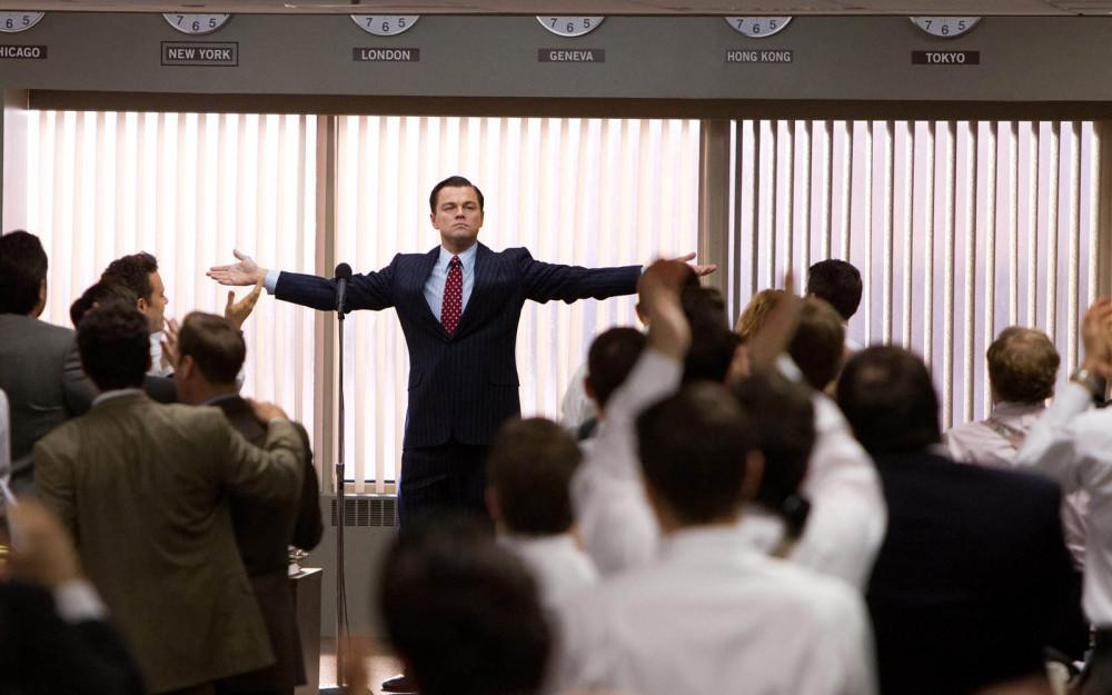 """The Wolf of Wall Street"" top movie of the year"