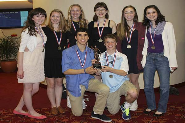 West Linn Junior Mock Trial team places 7th in the nation
