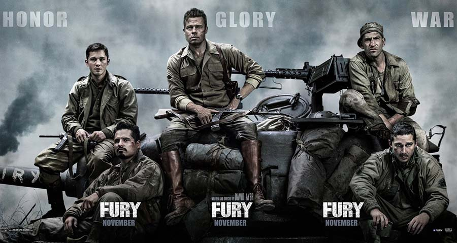 """Fury"" brings realistic, yet disturbing, WWII depictions to the big screen"