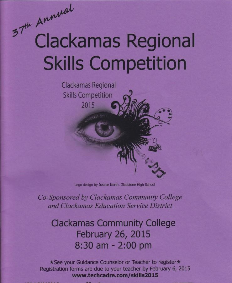 The Clackamas Regional Skills competition takes place Feb. 26, from 8:30 am to 2 pm. It is an academic competition that awards first, second, and third place winners in each contest with free credits to take classes CCC.