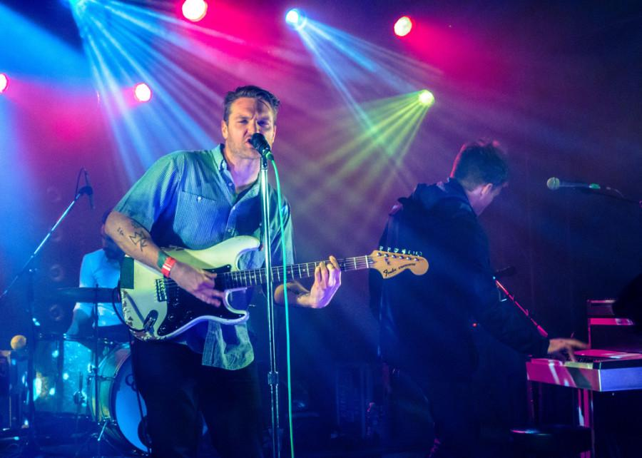 "The ""Cold War Kids"" performed at McMenamins Crystal Ballroom on Feb. 19 with ""Elliot Moss"" opening. The ""Cold War Kids"" released its newest album ""Hold My Home"" in fall of 2014."