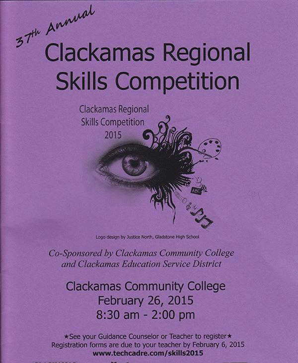 The+Clackamas+Community+College+Regional+Skills+competition+was+Feb.+26.+Twenty-two+students+from+WLHS+competed+at+the+competition.+