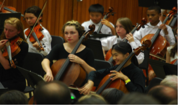 Two WLHS Freshmen girls claim seats in America's First Youth Orchestra