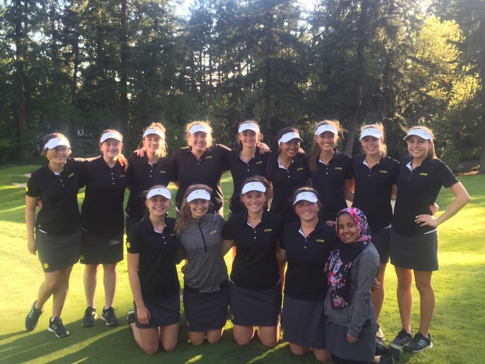 The Varsity Girls Golf Team took first place at the Oswego Lake Country Club. The Girls Golf Team plays May 4 at the Arrowhead Golf Club and the Boys Golf Team plays May 4 at the Stone Creek Golf Club.