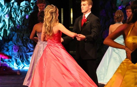 King Tim Harman and Queen Sophie Gabler, seniors, dance at the May Day 2015 celebration Harman looks forward to his future after West Linn High School attending the Naval Academy Prep School and continuing to wrestle.