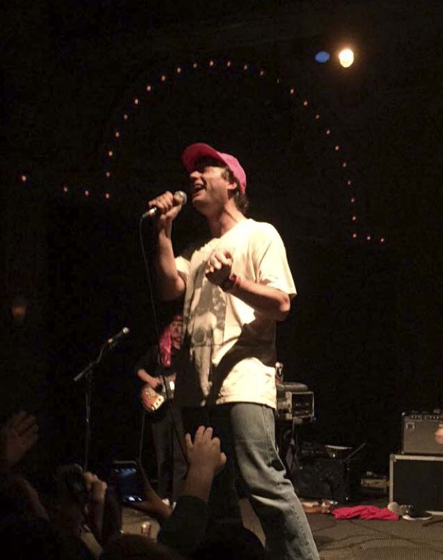Mac Demarco captures his audience with originality and energy on stage