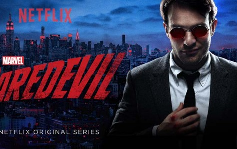 "Matt Murdock, a blind lawyer, works in the office and out on the streets to keep his city clean of crime. Netflix released ""Marvel's Daredevil"" April 10 and plans to release the second season next year."