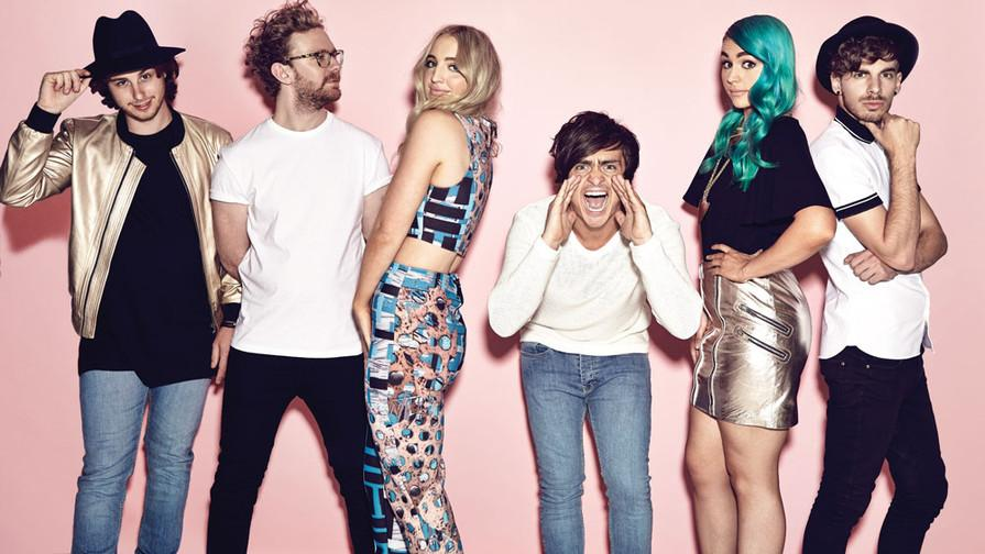 "Sheppard's new album ""Bombs Away"" was released on March 10. The album produced two top chart songs, ""Geronimo"" and ""Let Me Down Easy."""