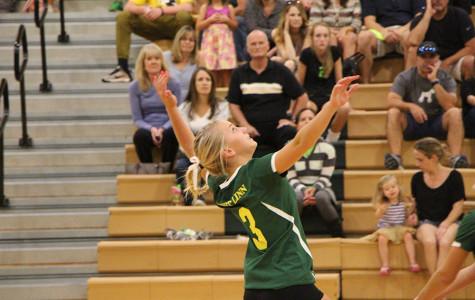 South Ridge defeats girls volleyball (10 Photos)