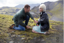 "Actors Brian J. Smith, Will Gorski, and Tuppence Middleton, Riley Blue, in Reykjavik, Iceland shooting one of the finishing scenes in the season one finale of Sense8.  The Wachowski's make way for ""Sense8's"" second season as Netflix's hits sky rocket."