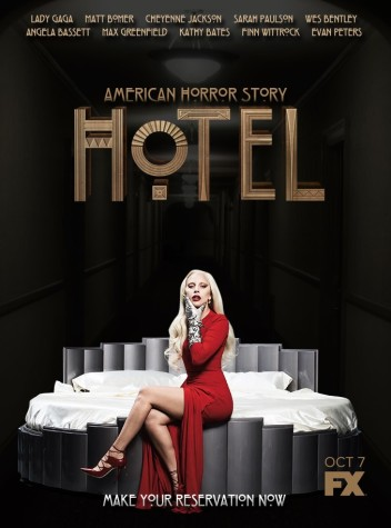 """Lady Gaga checks into """"American Horror Story, Hotel,""""  replacing Jessica Lange as the lead role"""