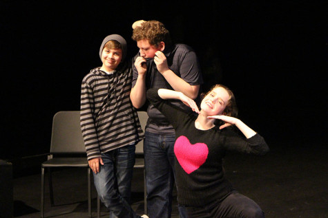 Improv Club practices for their first upcoming show (12 Photos)