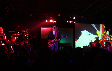 """Playing on tour for their 2015 album """"Aureate Gloom,"""" """"Of Montreal"""" incorporated lasers, actors and huge colorful props perfectly with their psychedelic songs. The 20 year old band brought old and new fans to the Wonder Ballroom in downtown Portland Nov. 1."""