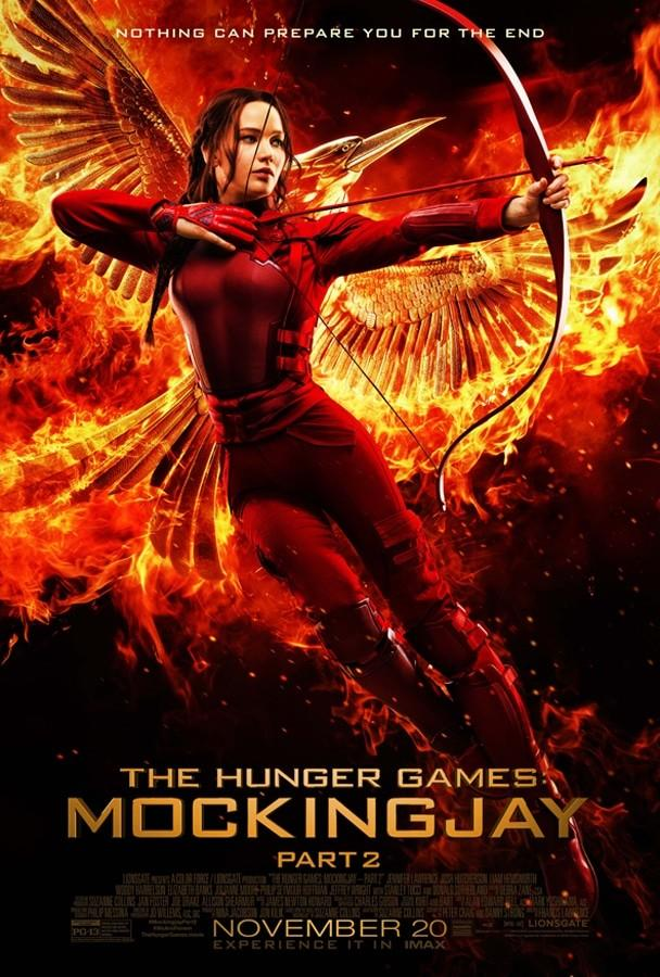 Photo+Courtesy+of+http%3A+%2F%2Fwww.thehungergames.movie%2F%0A%E2%80%9CThe+Hunger+Games%3A+Mockingjay+Part+2%E2%80%9D+came+the+a+thrilling+conclusion+featuring+Academy+Award+winner%2C+Jennifer+Lawrence.+The+movie+showcased+some+of+the+better+acting+of+all+the+movies+along+with+a+lot+of+action+rather+than+talking.+