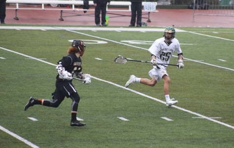 Playing three 18 minute games during the Cooper's Jamboree, boys lacrosse beat Wilson, Liberty, and Beaverton teams.