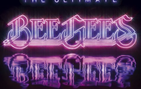 The Bee Gees logo, which was most prominently used in the 70's, was brought back for