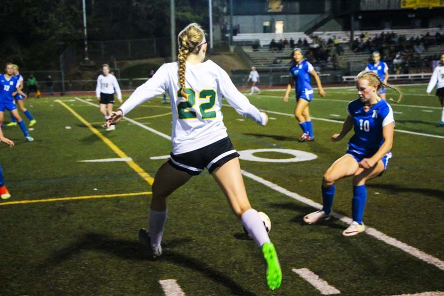 Girls Varsity scores 3-1 against Newberg on September, 22, taking home the win. The team recently welcomed new underclassmen players, making them feel at home before hitting the field.
